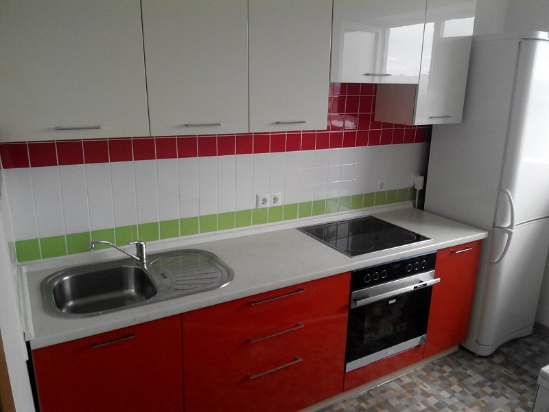 Кухня прямая 7 квм дизайн