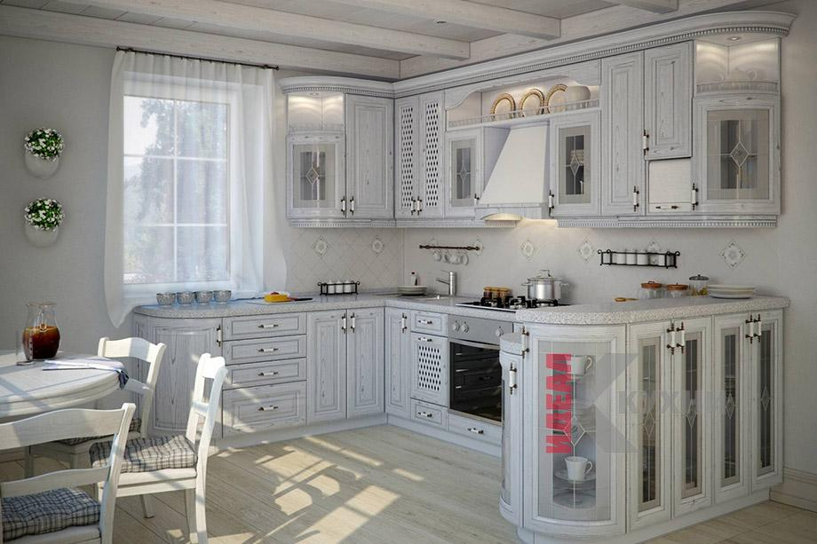 кухни из массива в минске фото