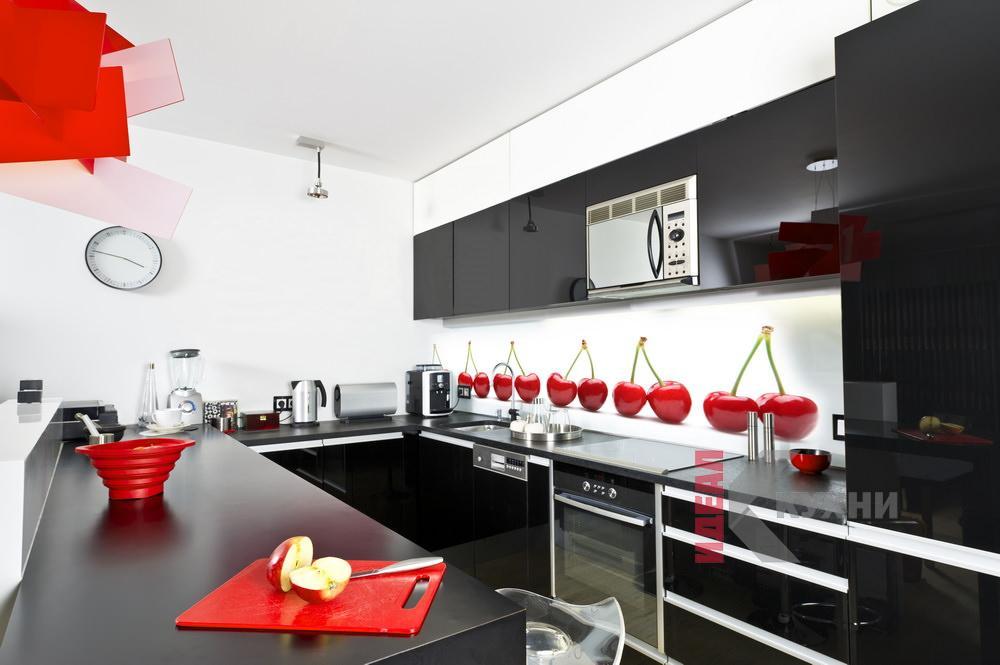 кухни с фотоскинали