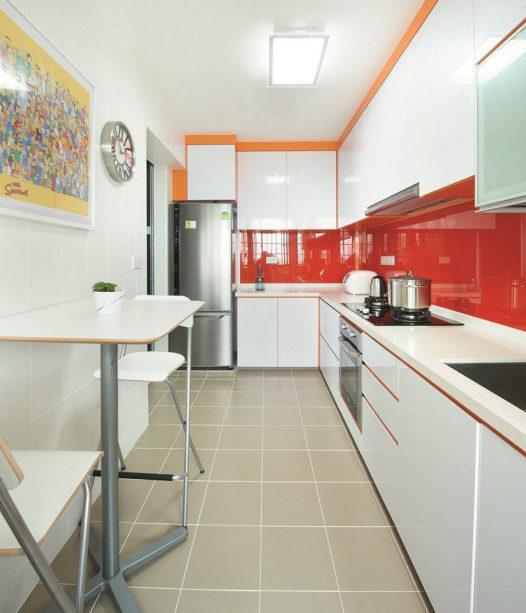 Как сделать узкую кухню функциональной 4