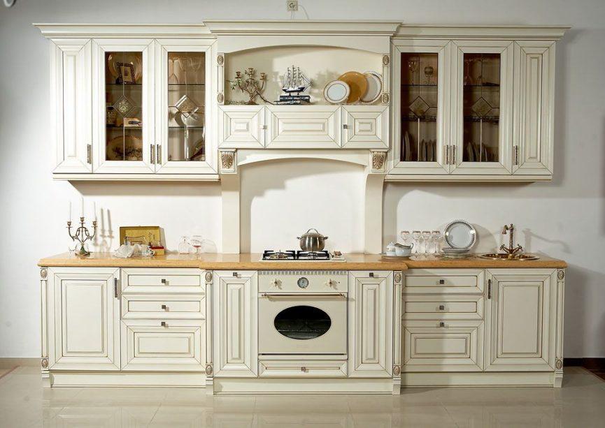 классический стиль в кухонном интерьере 1