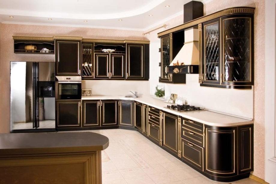 классический стиль в кухонном интерьере 2
