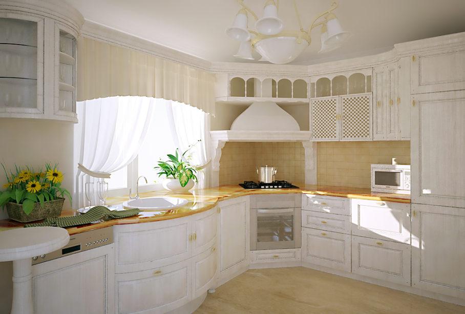 классический стиль в кухонном интерьере 3