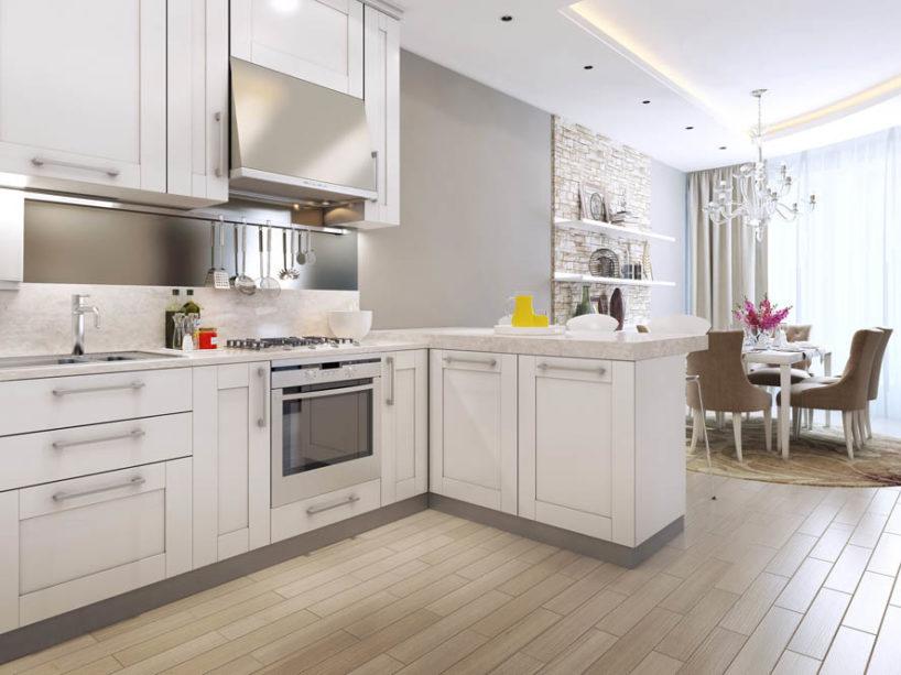 классический стиль в кухонном интерьере 4