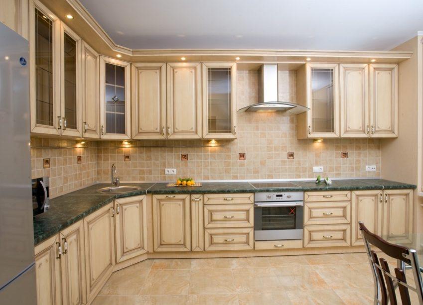 классический стиль в кухонном интерьере