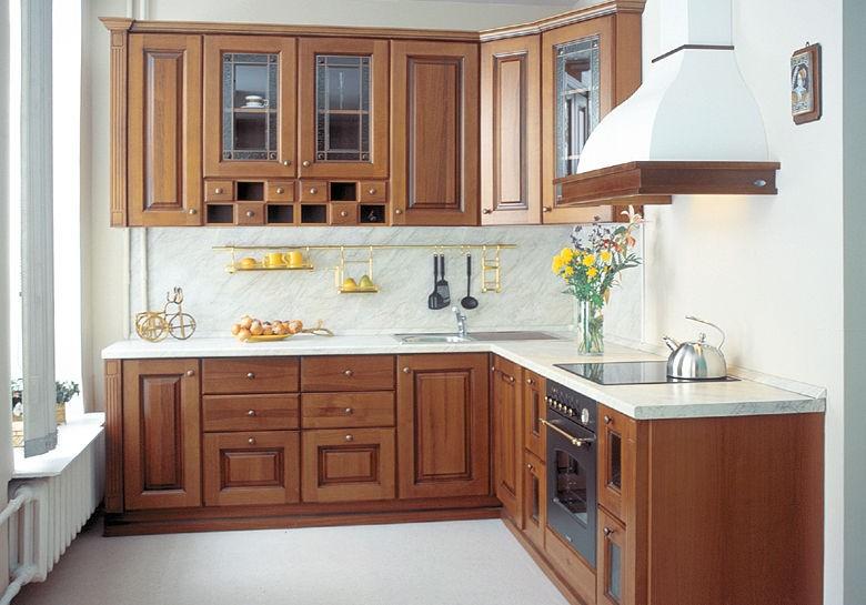 особенности планировки угловой кухни 1