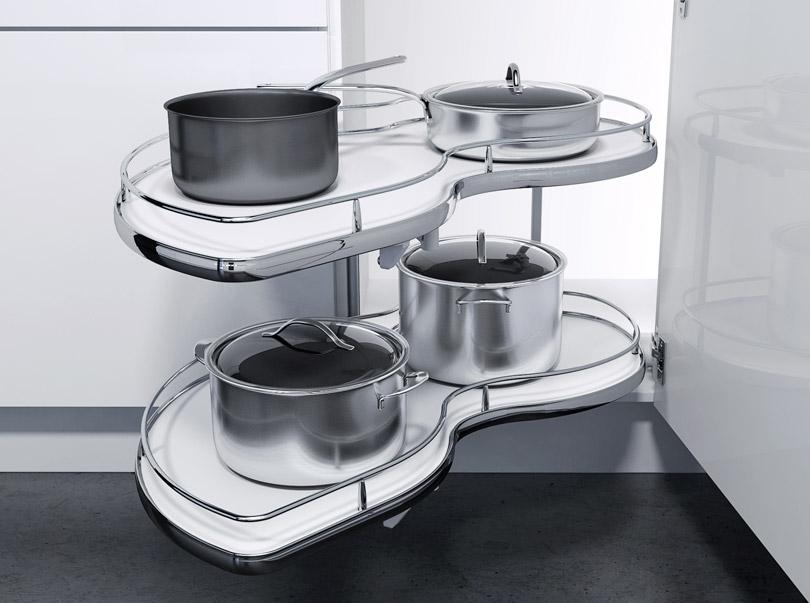 особенности планировки угловой кухни 7