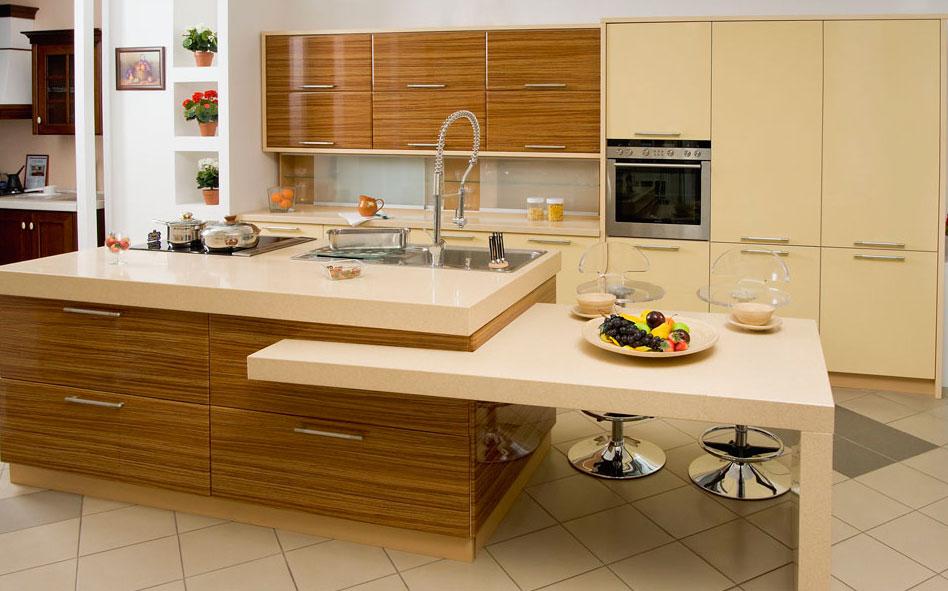 Кухни из шпона 1