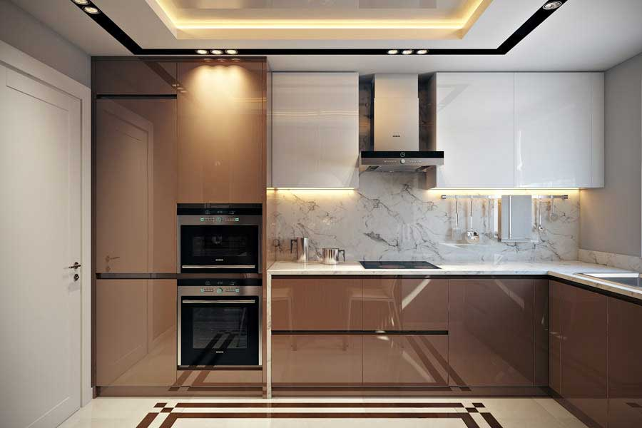 Кухня 7-9 м.кв.