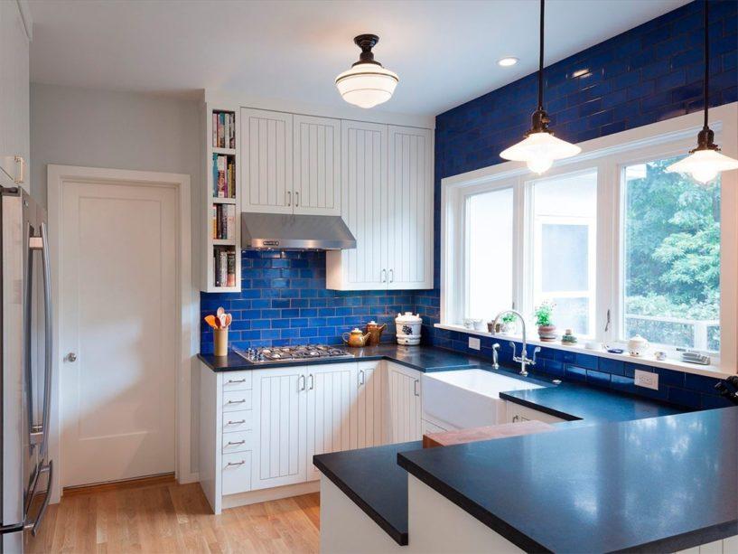 Синие кухни 1