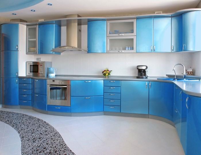Синие кухни 2