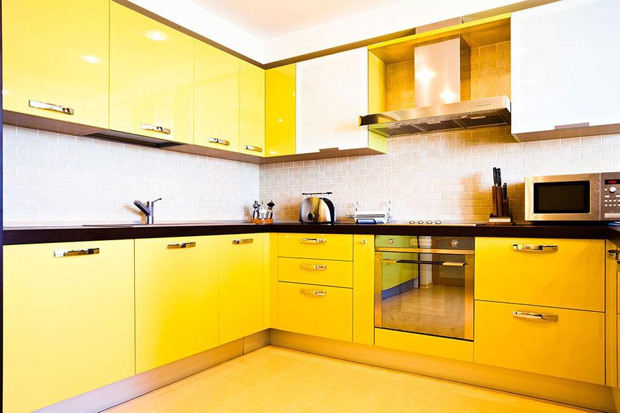 Желтые кухни 1