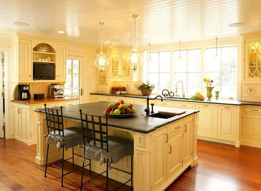 Желтые кухни 2