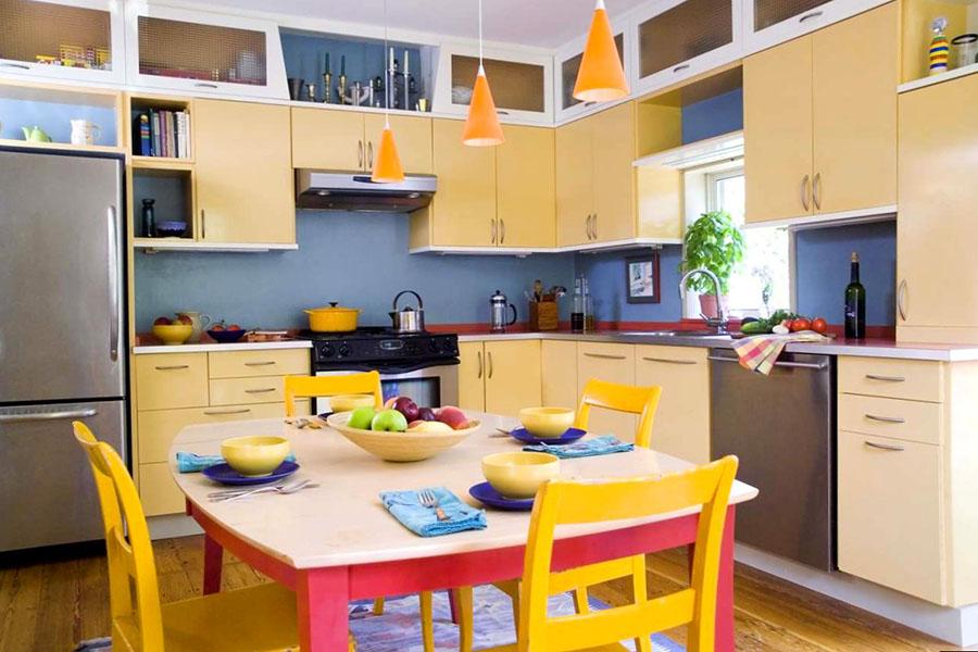 Желтые кухни 3