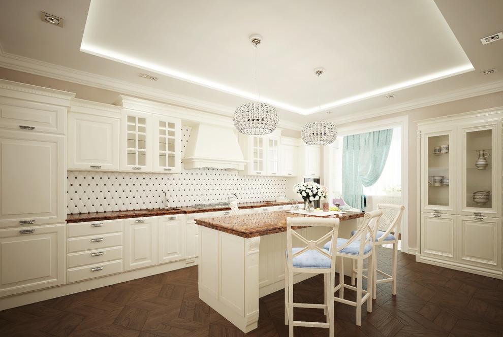 Кухня в стиле неоклассика